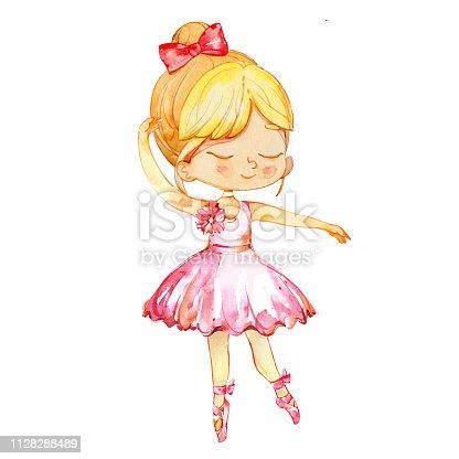 ᐈ Imagen De Pequeña Bailarina Bebé Niña Personaje Bailando Usa