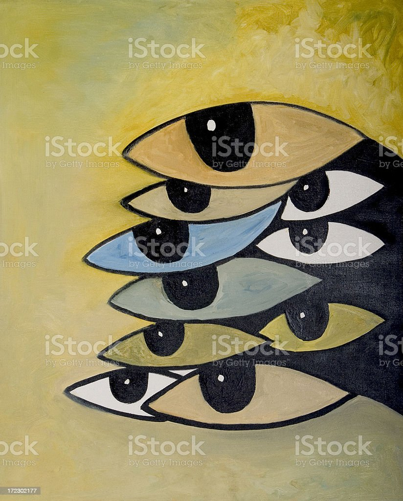Title Paparazzi Eyes - oil painting art colors abstract royalty-free title paparazzi eyes oil painting art colors abstract stock vector art & more images of abstract