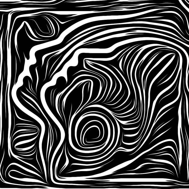 Together vector art illustration