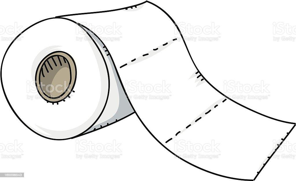 Papel higiênico ilustração de papel higiênico e mais banco de imagens de banheiro - estrutura construída royalty-free