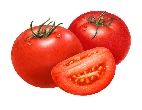 Tomatoes and Wedge
