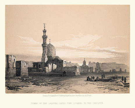 Tombs of the Caliphs, Cairo, 19th Century