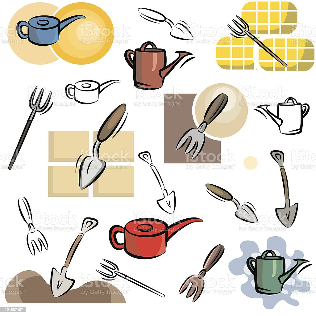 Tool Icons (Vector) royalty-free stock vector art