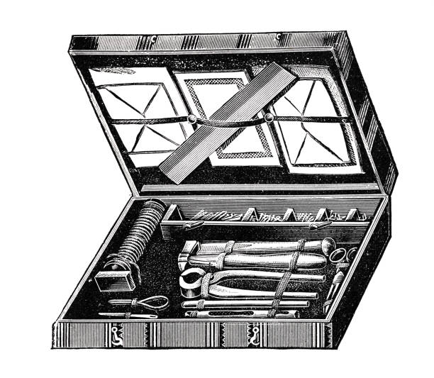 Best Open Tool Box Illustrations, Royalty-Free Vector