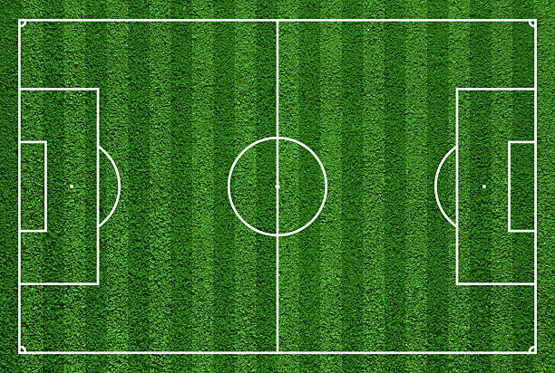 Best Soccer Field Illustrations, Royalty-Free Vector
