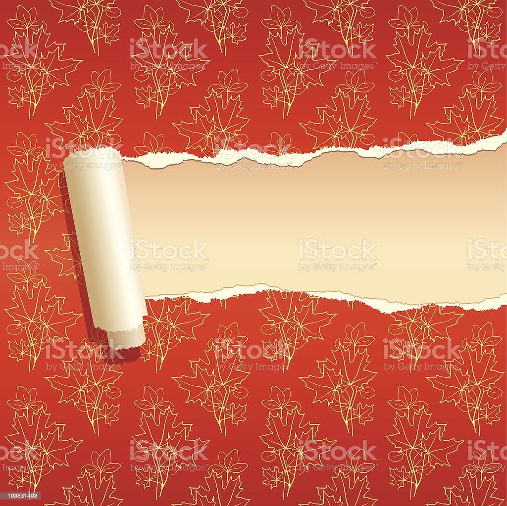 torn paper 5 royalty-free stock vector art