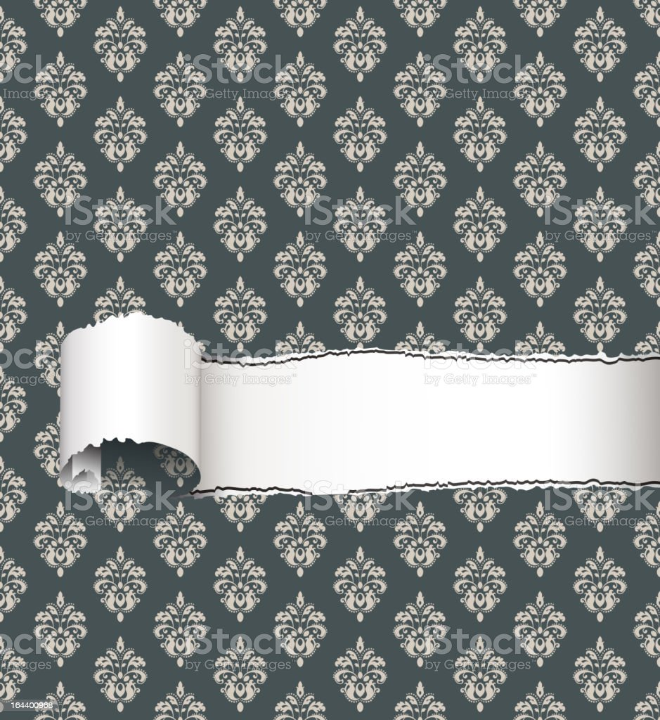 Torn Paper Background. royalty-free torn paper background stock vector art & more images of backgrounds