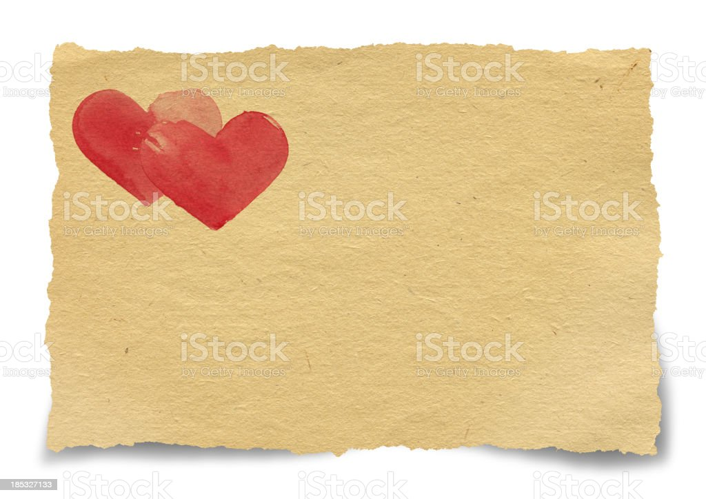 Torn Piece of Old Paper royalty-free torn piece of old paper stock vector art & more images of blank