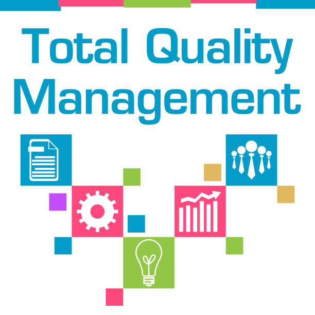 Royalty free total quality management clip art vector images total quality management colorful squares symbols vector art illustration ccuart Gallery