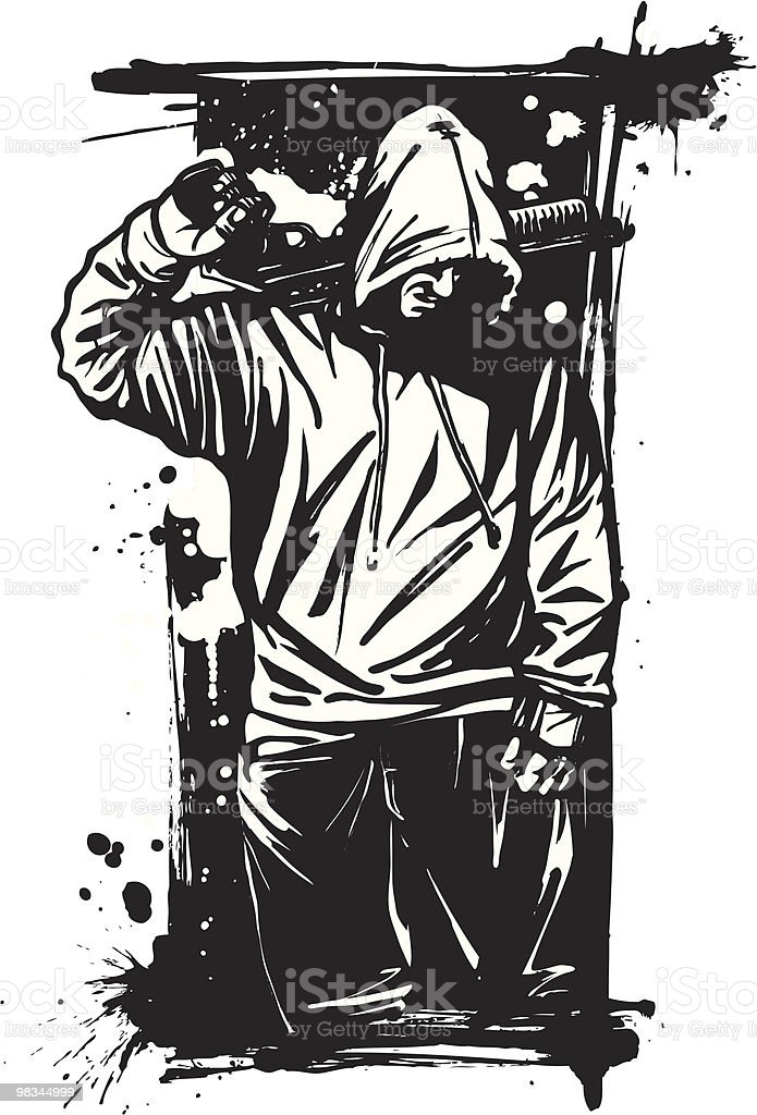 Tough Guy with Shotgun: Version IV royalty-free tough guy with shotgun version iv stock vector art & more images of adults only