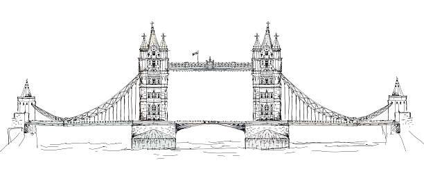 Best London Bridge Illustrations, Royalty-Free Vector