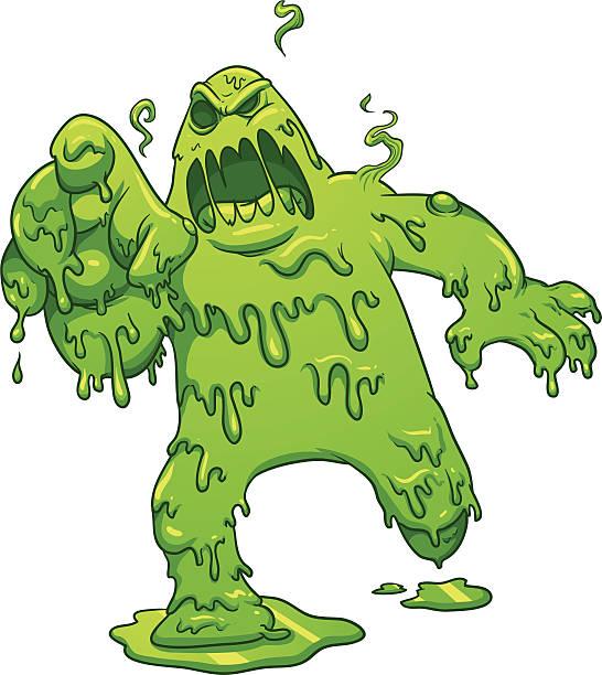 ilustrações, clipart, desenhos animados e ícones de monstro tóxicas - monstro
