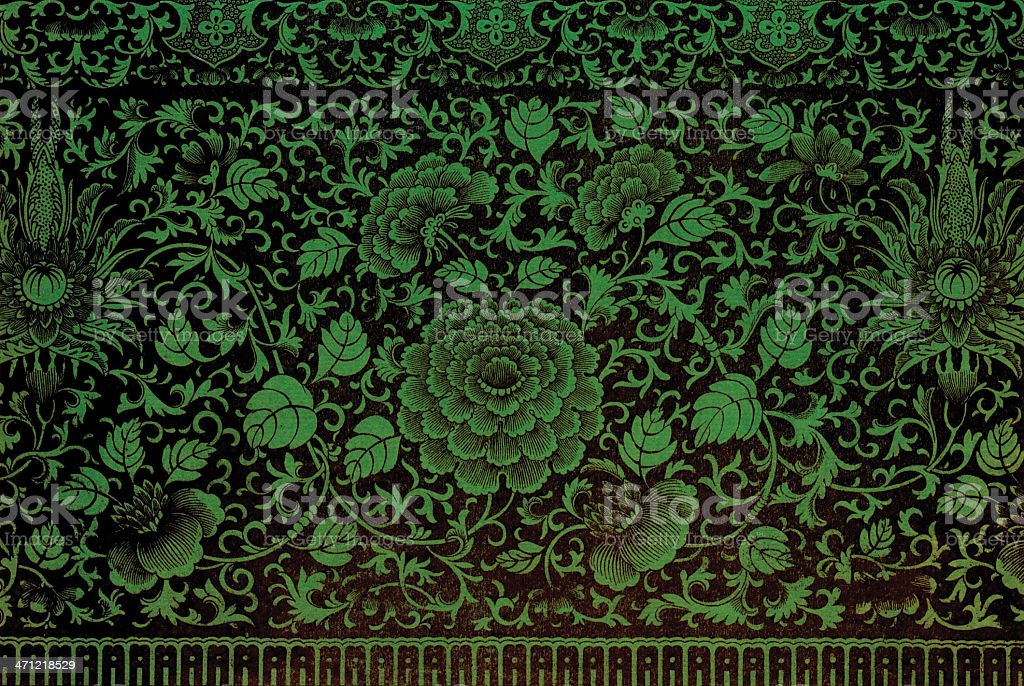 Traditional Asian Wallpaper royalty-free traditional asian wallpaper stock vector art & more images of asia