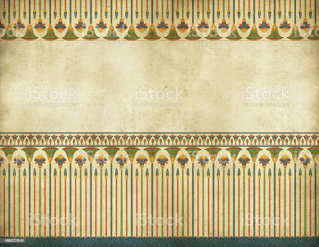 Traditional Egyptian Border Stock Vector Art & More Images of ...