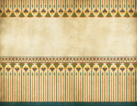 Traditional Egyptian Border