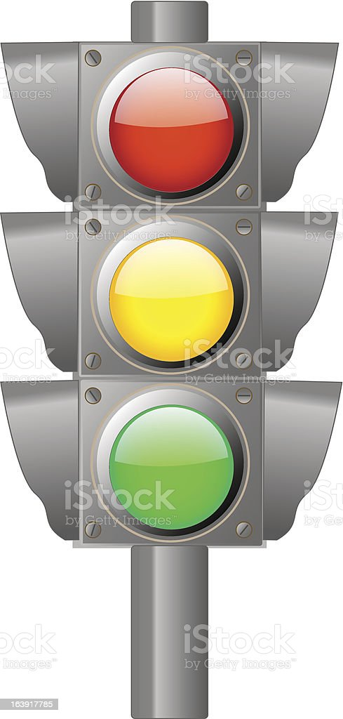 Traffic light royalty-free traffic light stock vector art & more images of electric lamp