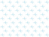 travel symbol airplane icon flat element light blue aqua lot set design base on white background