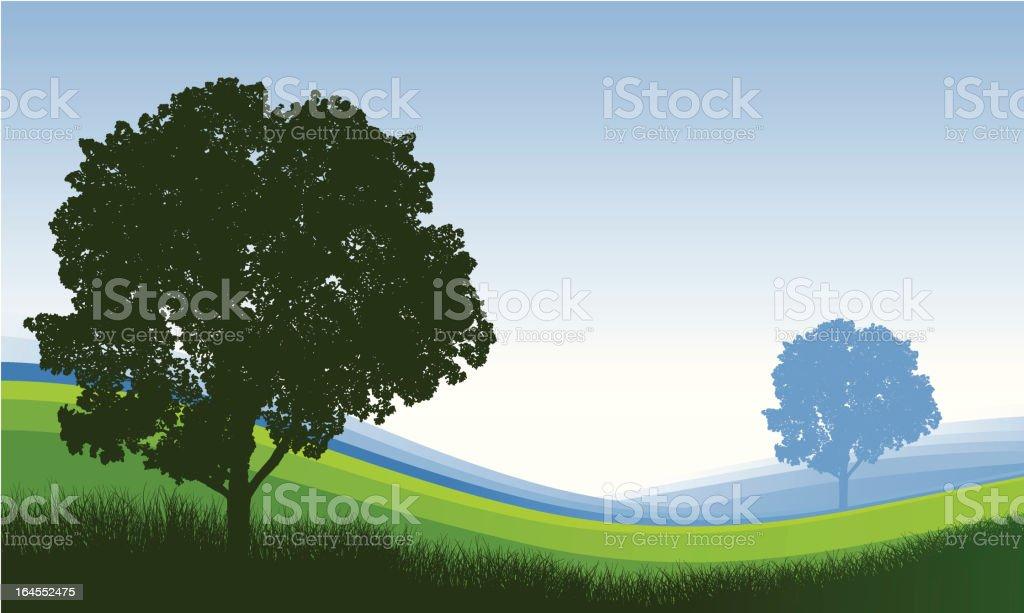 Tree Background royalty-free stock vector art
