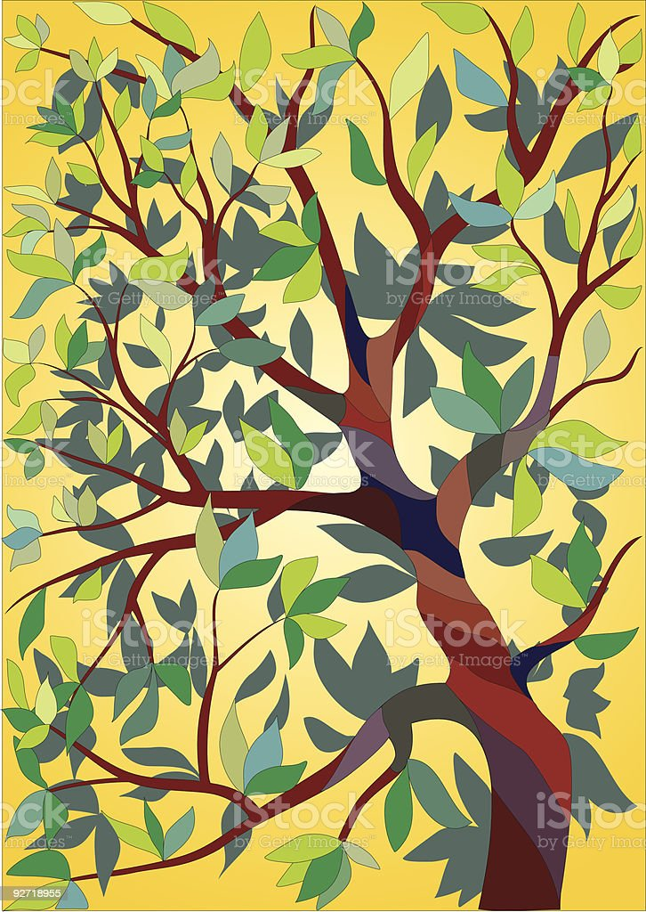 tree - vector royalty-free tree vector stock vector art & more images of art