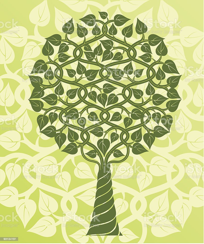 Tree. Vector illustration. royalty-free stock vector art