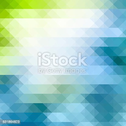 Triangle geometric background.