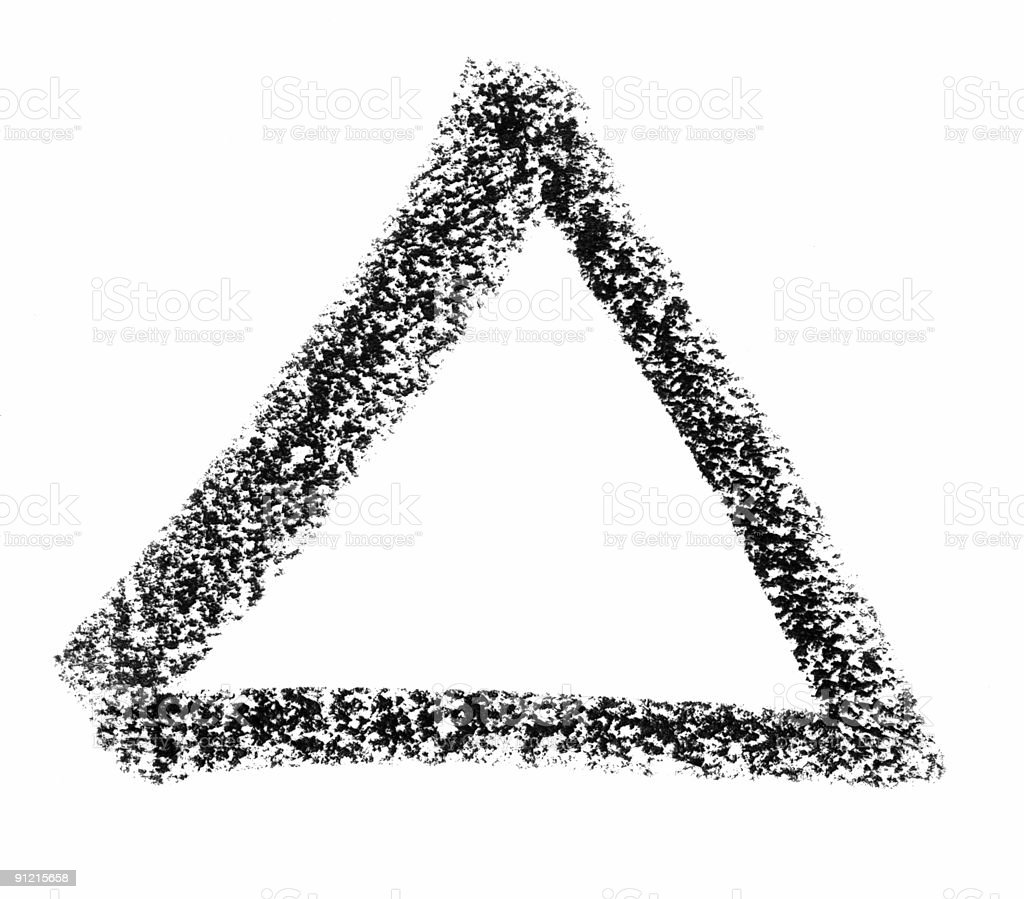 triangle sketch royalty-free triangle sketch stock vector art & more images of angle