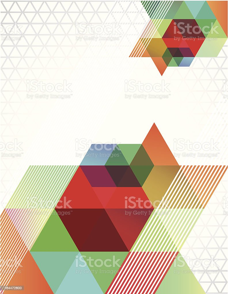 Triangle Transparent royalty-free triangle transparent stock vector art & more images of 1980-1989