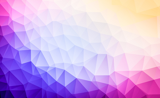 624878906 istock photo Triangular abstract background 929797054