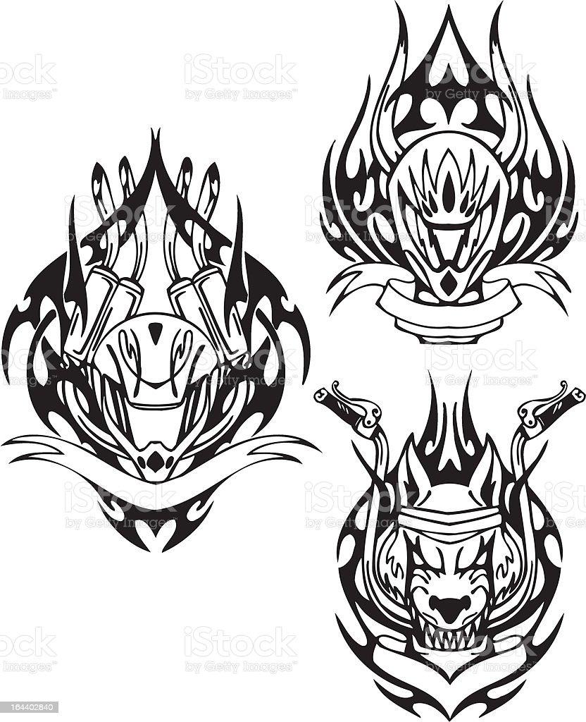 Tribal Velos Cliparts Vectoriels Et Plus D Images De Agression