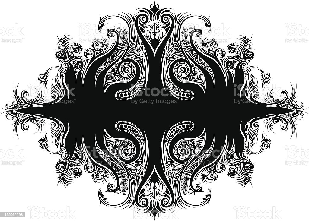 Tribal Ornament royalty-free tribal ornament stock vector art & more images of abstract