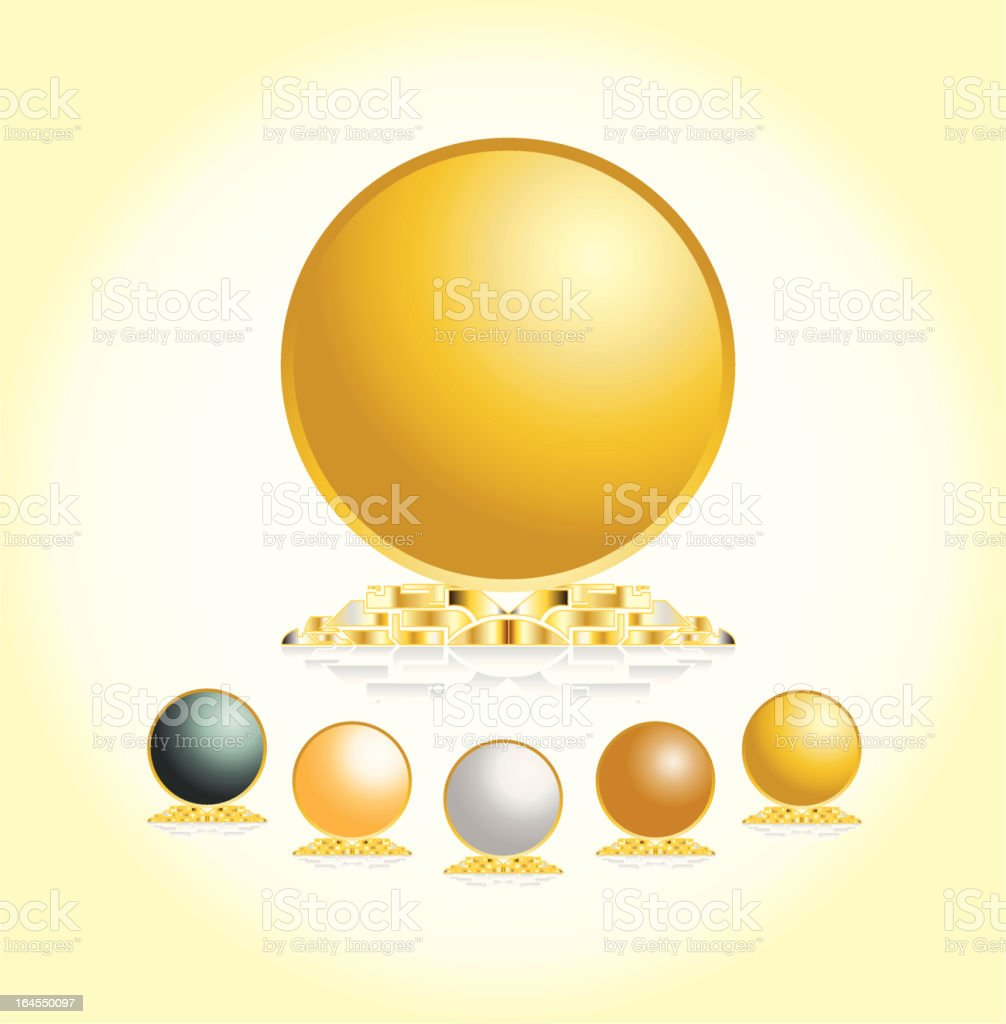 Trophy royalty-free trophy stock vector art & more images of award