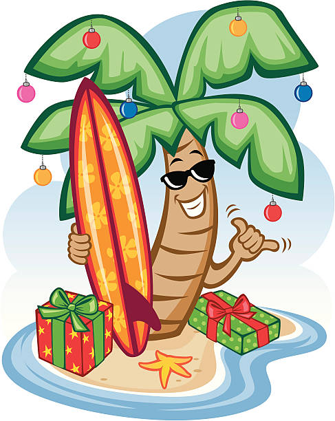 Top 60 Hawaii Christmas Clip Art, Vector Graphics and ...