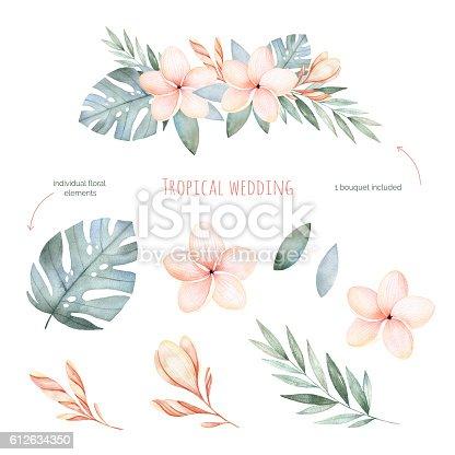 illustration soft floral - photo #3