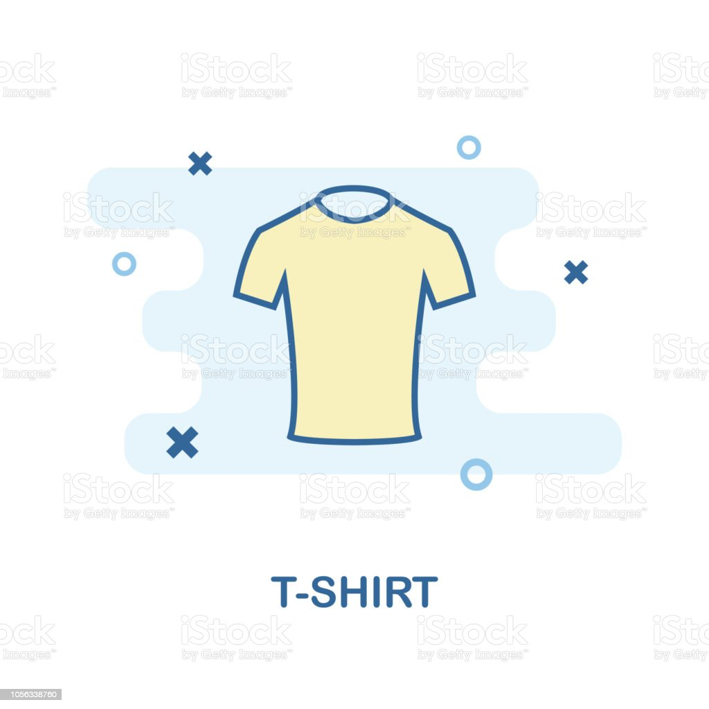 Tshirt Icon Monochrome Style Design From Clothes Icon Collection Ui And Ux Pixel Perfect Tshirt Icon For Web Design Apps Software Print Usage Stock Illustration Download Image Now Istock