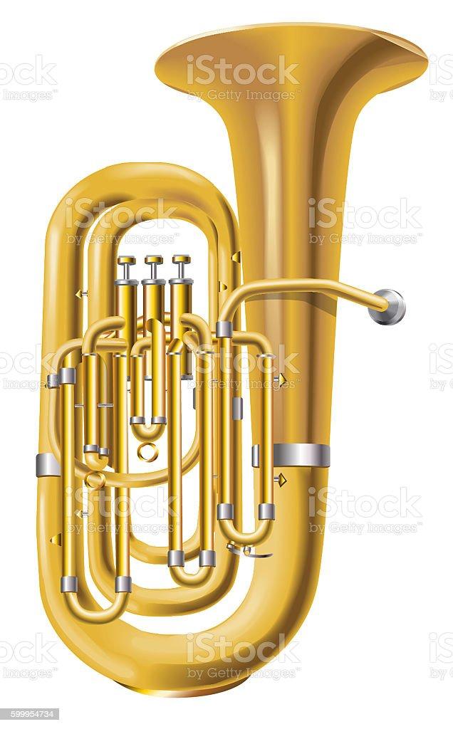 royalty free tuba clip art vector images illustrations istock rh istockphoto com tuba clipart free marching band tuba clipart