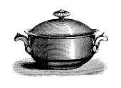Tureen | Antique Culinary Illustrations