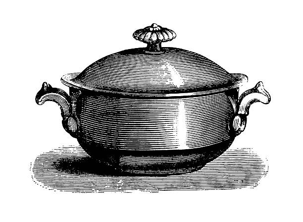 Tureen   Antique Culinary Illustrations