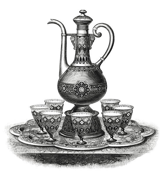 Best Turkish Coffee Illustrations, Royalty-Free Vector ...