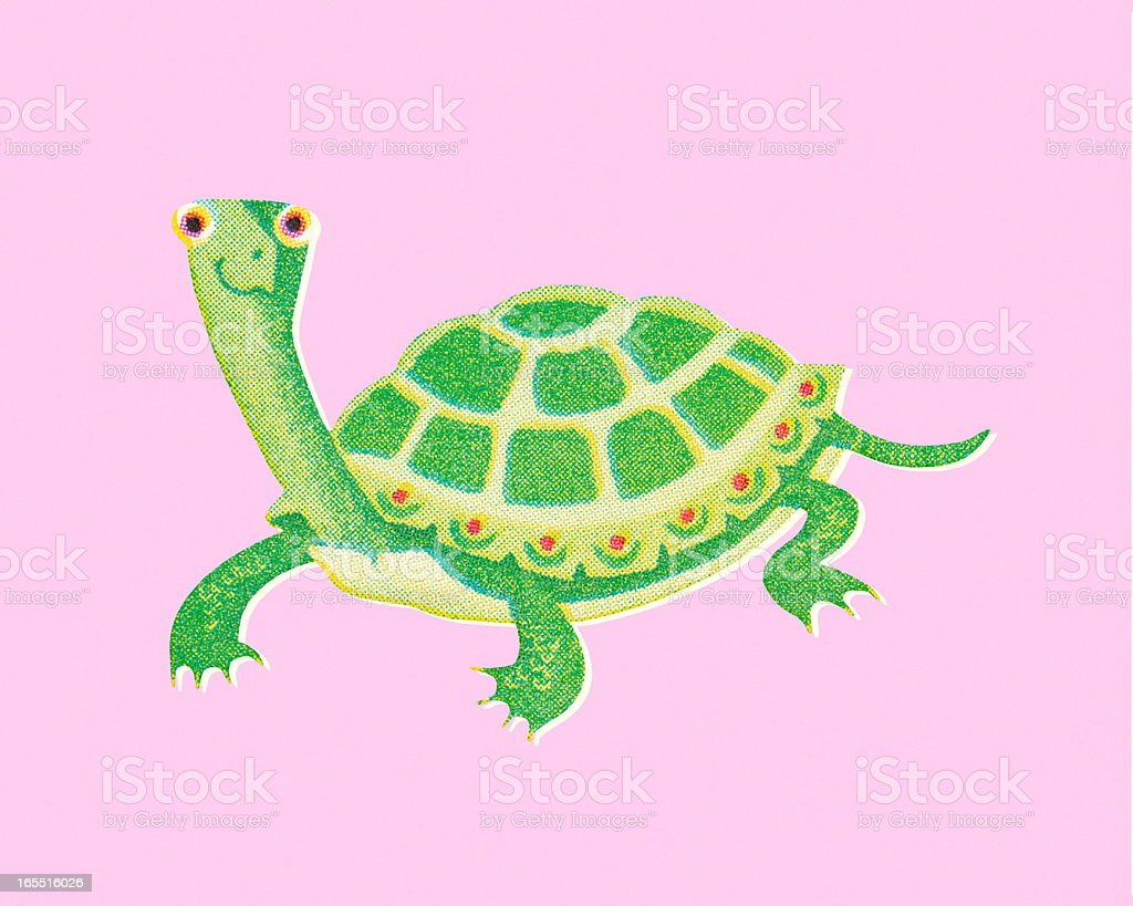 Turtle royalty-free stock vector art