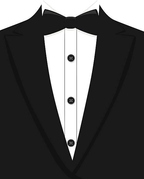 Tuxedo vector art illustration