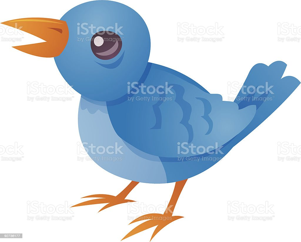Tweet vector art illustration