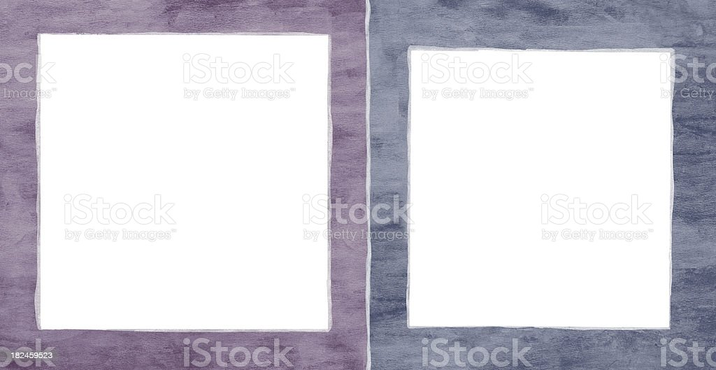 Two Frame royalty-free two frame stock vector art & more images of abstract