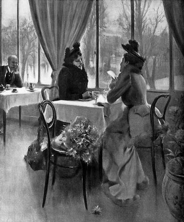 Two Friends by Edgar de Saint-Pierre de Montzaigle - 19th Century