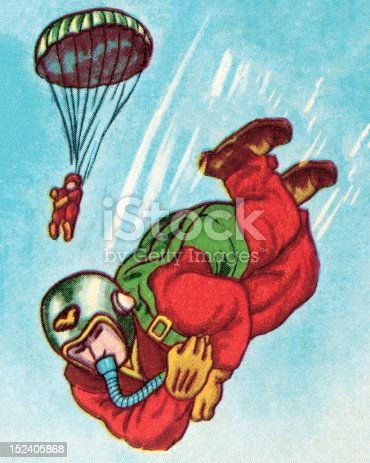 Two Paratroopers