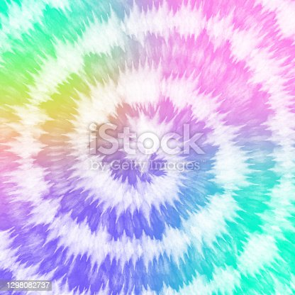 istock Tye Dye colorful white  background. Watercolor paint background. 1298082737