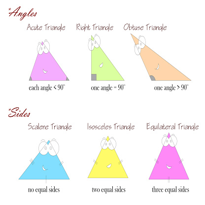 types of triangles based on angles and sides