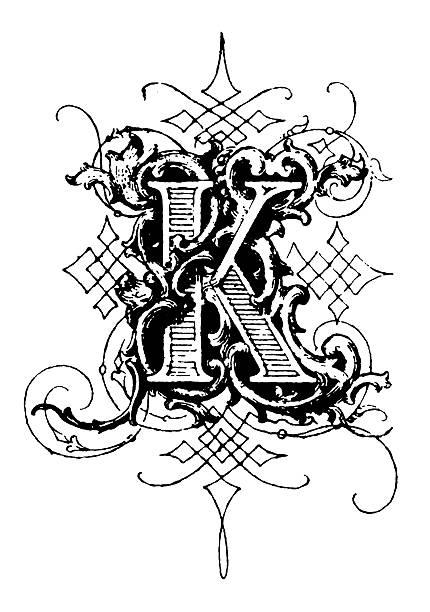 Fancy Letter K Designs 7793 Movieweb