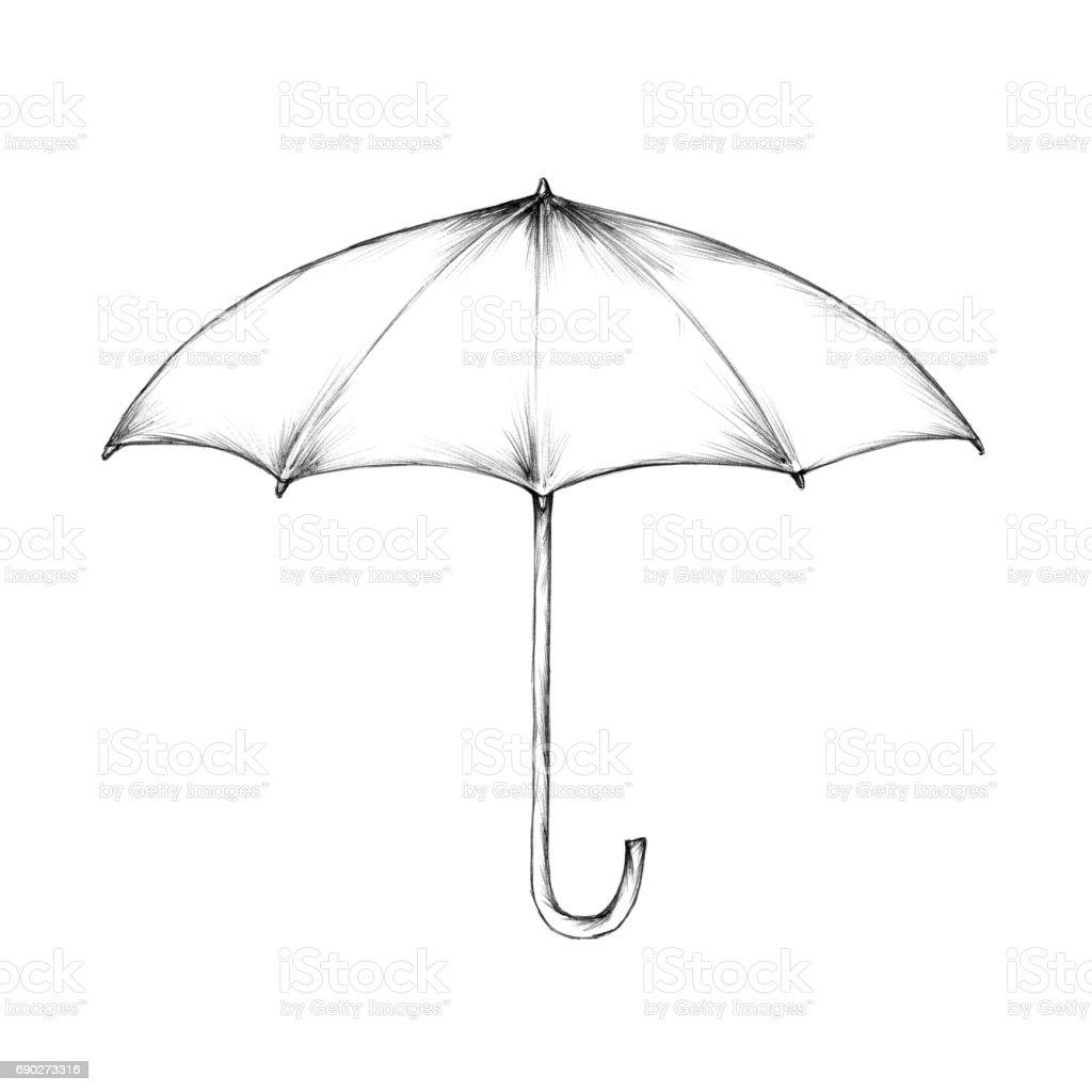 Regenschirm  – Vektorgrafik