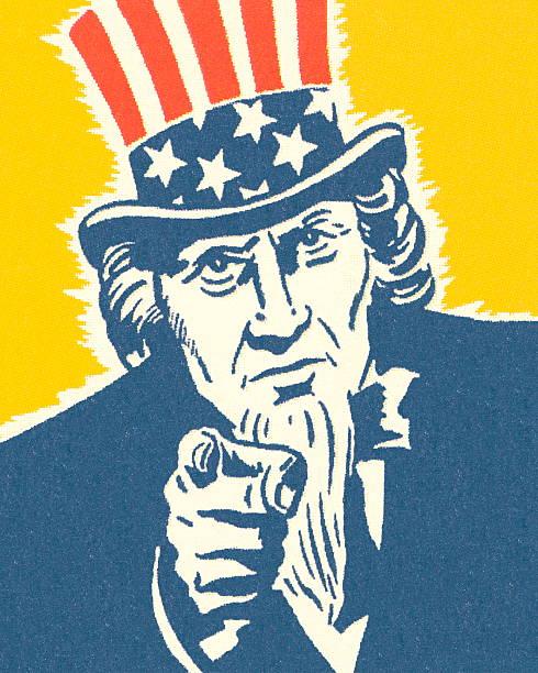 Uncle Sam Uncle Sam uncle sam stock illustrations