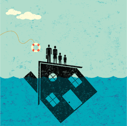 Underwater Home Mortgage Help